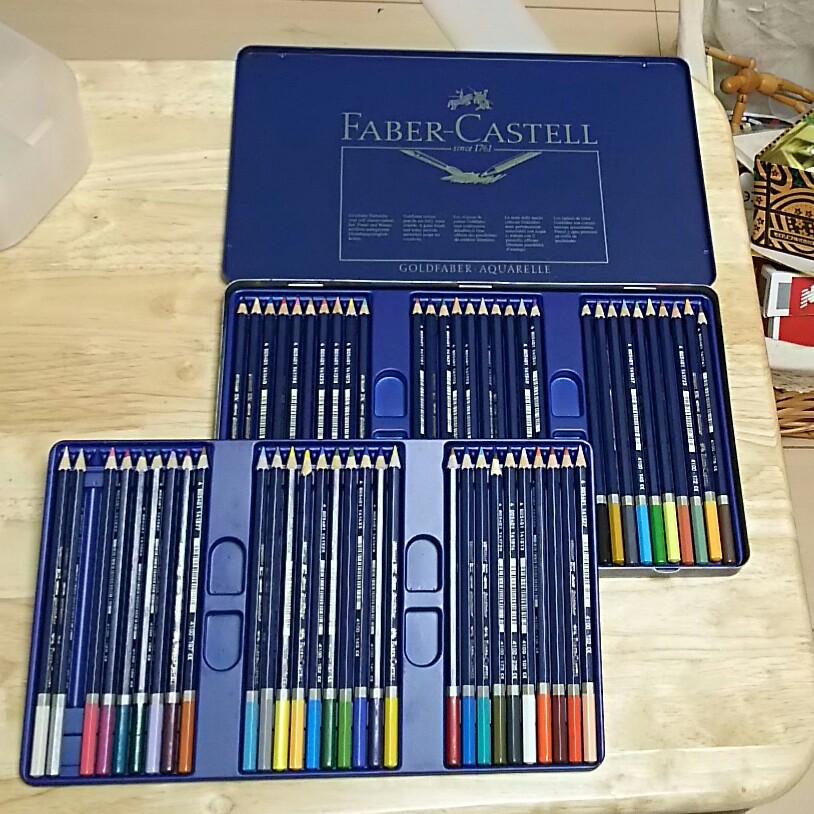 水彩色鉛筆の種類と選び方