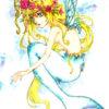 【フリーイラスト】春の人魚